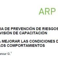 ANÁLISIS DE RIESGOS POR OFICIO - HERRAMIENTAS PARA MEJORAR LAS CONDICIONES DE TRABAJO Y LOS COMPORTAMIENTOS
