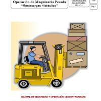 Manual de Seguridad y Operación de Montacargas Hidráulico