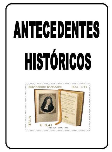 BERNARDINO RAMAZZINI-ANTECEDENTES HISTÓRICOS