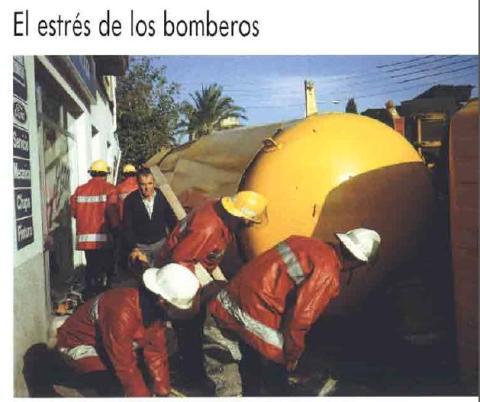 EL ESTRÉS DE LOS BOMBEROS