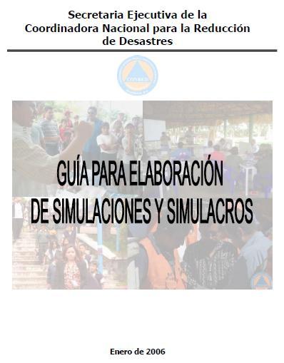 GUÍA para ELABORACIÓN de SIMULACIONES y SIMULACROS