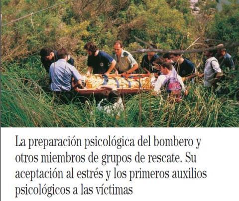 LA PREPARACIÓN PSICOLÓGICA DEL BOMBERO