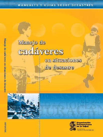 MANEJO de CADÁVERES