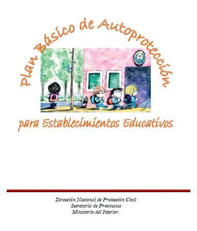 PLAN BÁSICO de AUTOPROTECCIÓN para ESTABLECIMIENTOS EDUCATIVOS