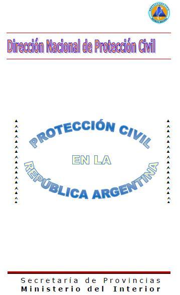 PROTECCIÓN CIVIL en la REPÚBLICA ARGENTINA