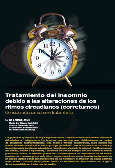 TRATAMIENTO del INSOMNIO debido a las ALTERACIONES de los RITMOS CIRCADIANOS