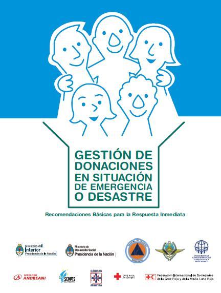 GESTIÓN de DONACIONES en SITUACIÓN de EMERGENCIA o DESASTRE