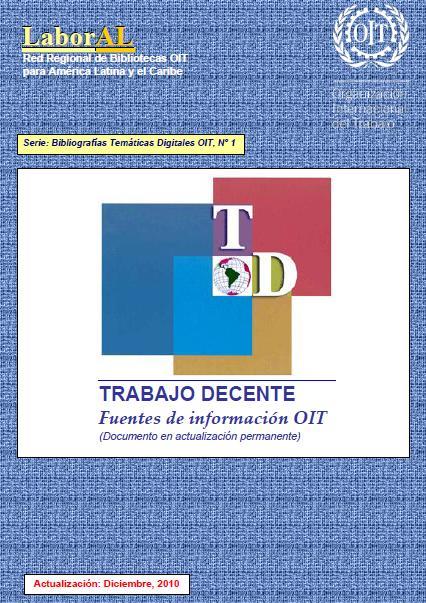 TRABAJO DECENTE - OIT