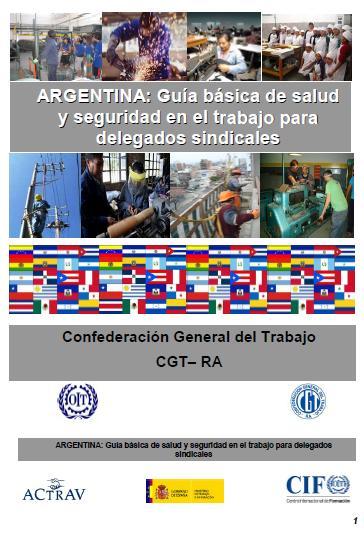 Guía Básica de Salud y Seguridad en el Trabajo para Delegados Sindicales