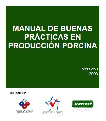 MANUAL de BUENAS PRÁCTICAS en PRODUCCIÓN PORCINA