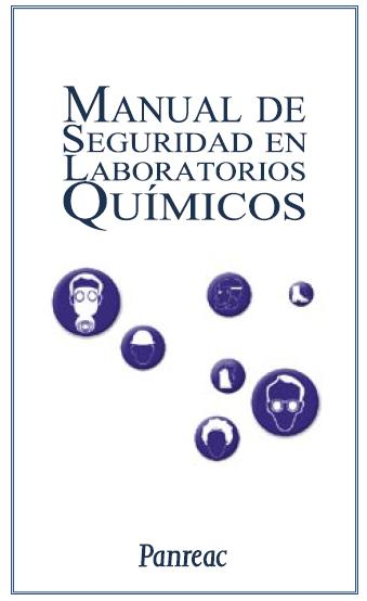 MANUAL de SEGURIDAD en LABORATORIOS QUÍMICOS