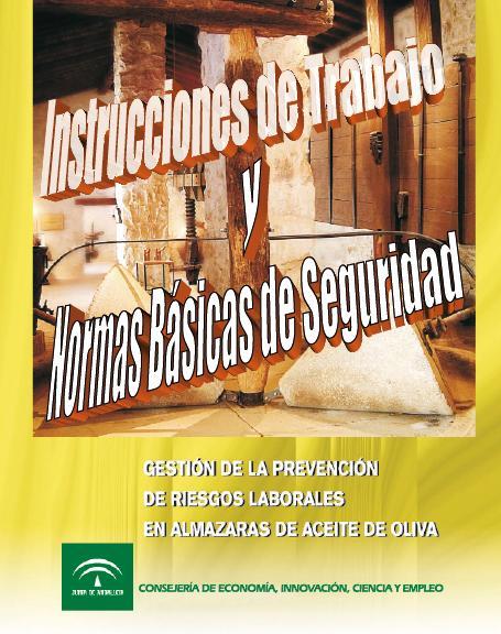 PREVENCIÓN de RIESGOS LABORALES en ALMAZARAS de ACEITE de OLIVA