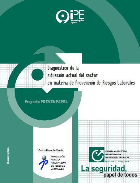 PROGRAMA SECTORIAL de PREVENCIÓN de RIESGOS LABORALES INDUSTRIA PAPELERA
