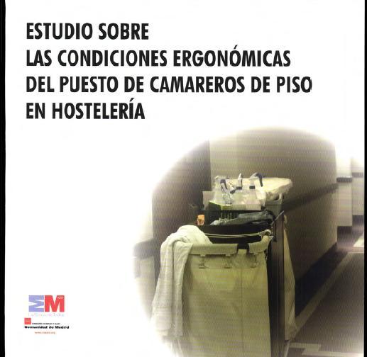 ESTUDIO sobre las CONDICIONES ERGONÓMICAS de PUESTO de CAMAREROS en HOSTELERÍA