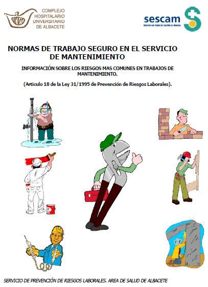 NORMAS de TRABAJO en el SERVICIO de MANTENIMIENTO