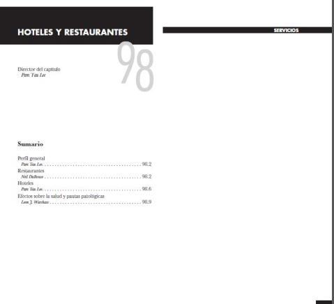 OIT-CAP 98-HOTELES y RESTAURANTES