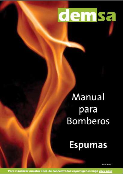 ESPUMAS - MANUAL para BOMBEROS - DEMSA