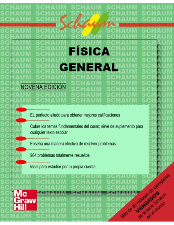 FÍSICA GENERAL-SCHAUM