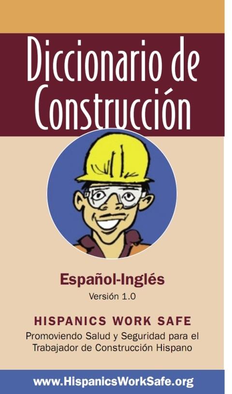 DICCIONARIO de CONSTRUCCIÓN-Español Inglés