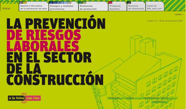 PRL en el SECTOR de la CONSTRUCCIÓN