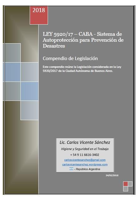 LEY N 5920-CABA